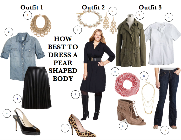 1c14177e559 How Best to Dress a Pear Shaped Body - Forever Styled