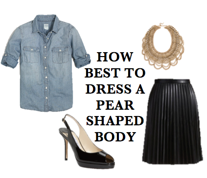 52bf57b1eb6 How Best to Dress a Pear Shaped Body - Forever Styled