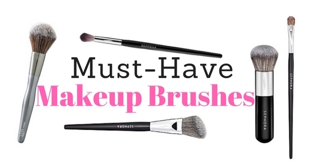 Must Have Makeup Brushes 2016
