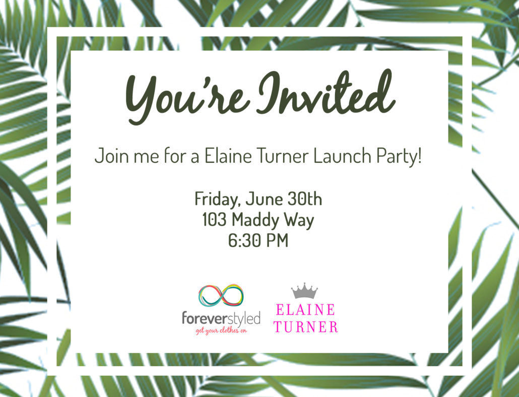 Elaine Turner Trunk Show
